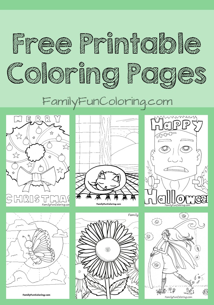Free printable unique coloring pages