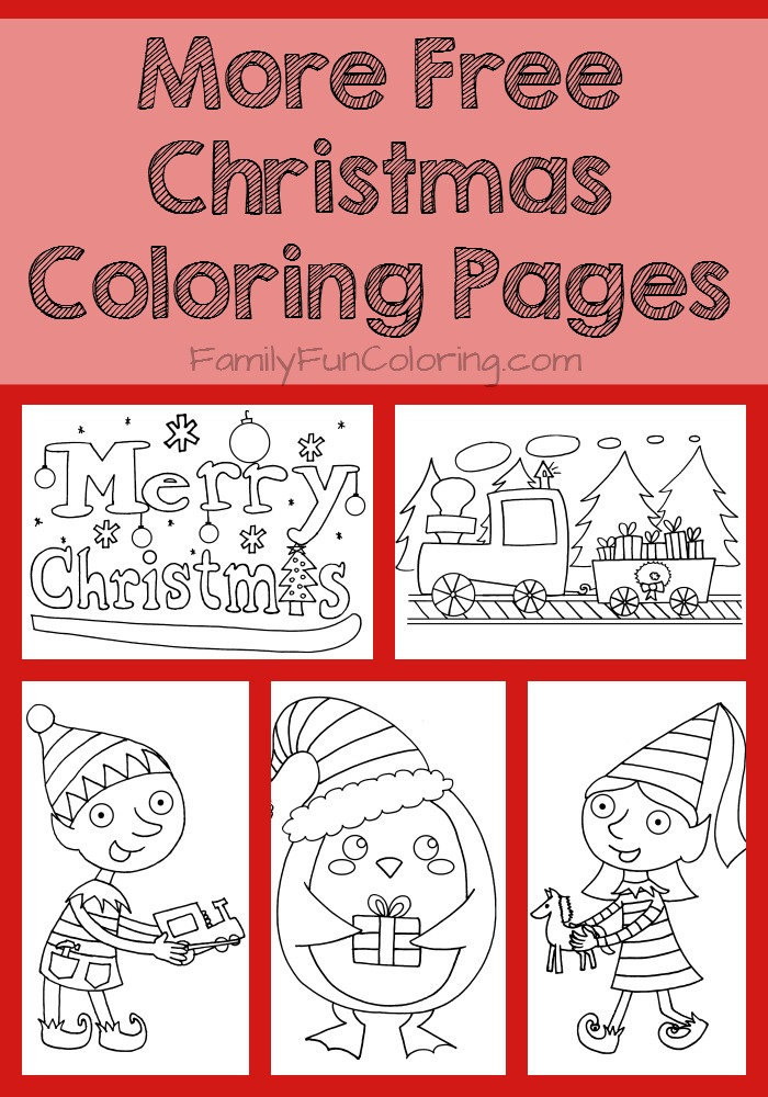 Christmas  Free Coloring Pages  crayolacom